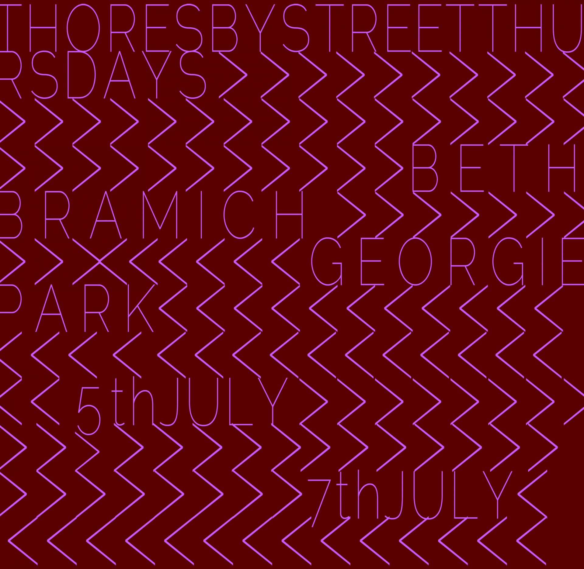 Thoresby Street Thursdays