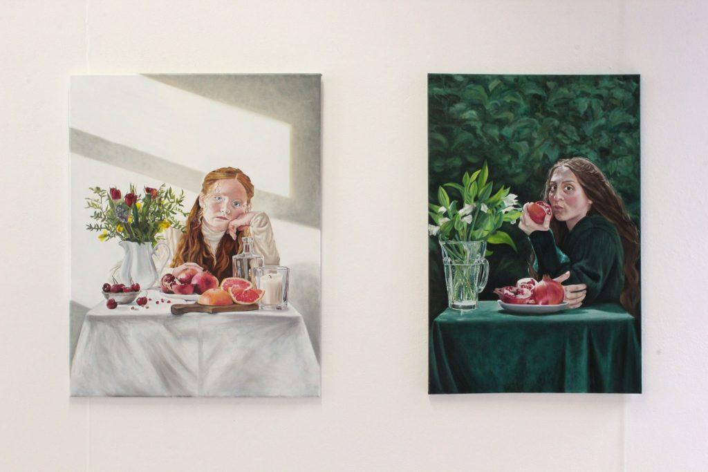 Keren Smith, Ophelia and Proserpine, 2021