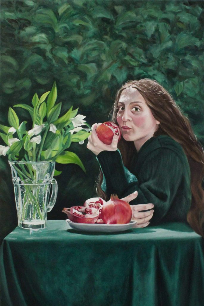 Keren Smith, Proserpine, 2021