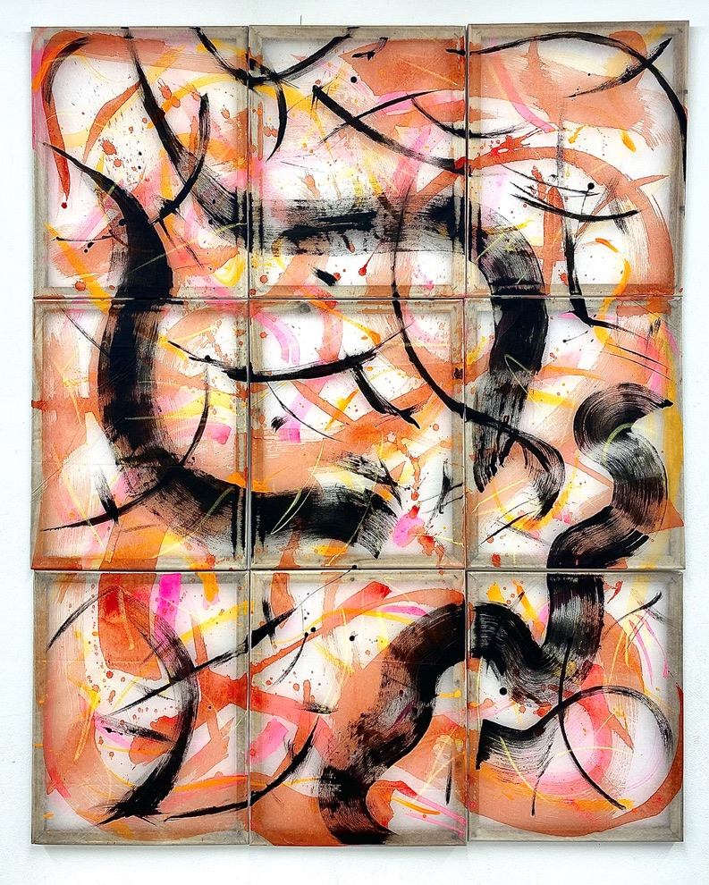 Colette Rogers, Untitled [Heartstringsx9], 2021